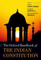 The Oxford Handbook of the Indian Constitution PDF