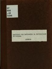 Manifesto dos estudantes da Universidade de Coimbra a' opinião illustrada do paiz, 1862-1863