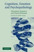 Cognition  Emotion and Psychopathology PDF