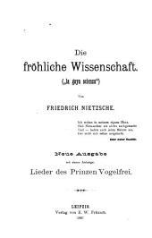 """Die fröhliche Wissenschaft: (""""la gaya Scienza"""")"""