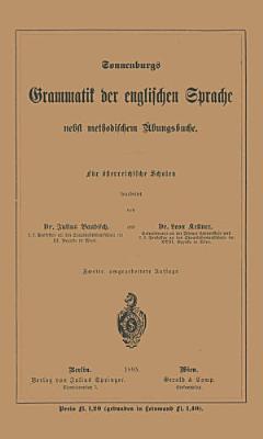 Grammatik der englischen Sprache PDF