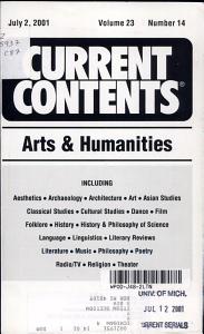 Current Contents PDF