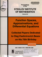 Function Spaces  Approximations  and Differential Equations PDF