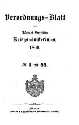 Verordnungs Blatt PDF