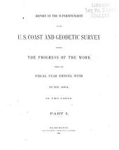 Annual Report of the Directory: Part 1