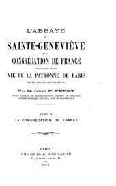 La Congrégation de France