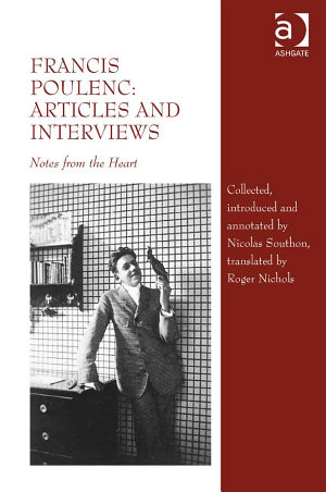 Francis Poulenc: Articles and Interviews