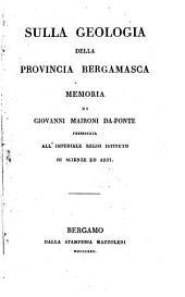 Sulla Geologia della Provincia Bergamasca, memoria
