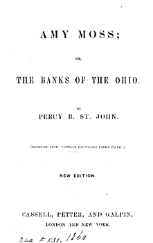 Amy Moss  or  The banks of the Ohio PDF