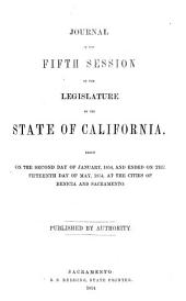 Journal of the Proceedings of the Assembly of the State of California