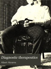 Diagnostic therapeutics: a guide for practitioners in diagnosis by aid of drugs and methods other than drug-giving