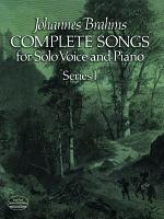 Complete songs for solo voice and piano  Treue Liebe dauert lange PDF