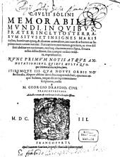 Memorabilia Mundi: In Qvibvs Praeter Inclytos Terrarvm Sitvs Et Insignes Maris tractus; hominum quoq[ue] & aliorum animalium, nec non & arborum ac lapidum exoticorum naturae ... exprimuntur. 1