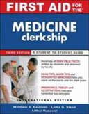 First Aid for the Medicine Clerkship Book