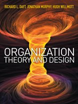 Organization Theory and Design Book