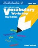 Vocabulary Workshop Level Green  Teacher s Edition  Book