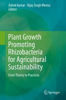 Plant Growth Promoting Rhizobacteria for Agricultural Sustainability PDF