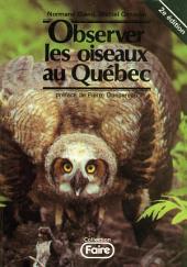 Observer les Oiseaux au Québec