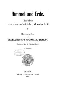 Himmel und Erde PDF