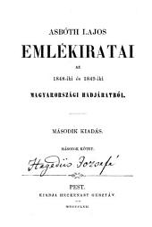 Asbóth Lajos emlékiratai az 1848-iki és 1849-iki magyarországi hadjáratból: 2. kötet