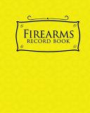 Firearms Record Book