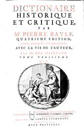 Dictionaire historique et critique: Volume3