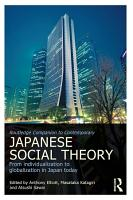 Routledge Companion to Contemporary Japanese Social Theory PDF