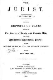 The Jurist: Volume 16, Part 1