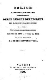 Collezione delle leggi e decreti emanati nelle provincie continentali dell'Italia meridionale: 1836,[a]