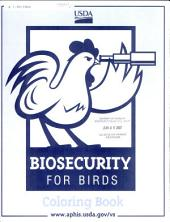 Biosecurity for birds coloring book