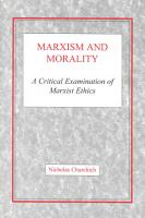 Marxism and Morality PDF