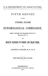 Report of the United States Entomological Commission for the Years ...: Volume 5, Parts 1886-1890