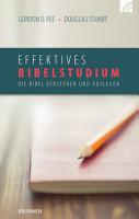 Effektives Bibelstudium PDF