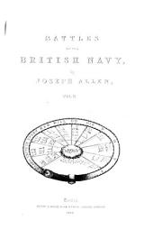 Battles of the British Navy: Volume 2