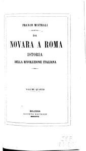 Da Novara a Roma: istoria della rivoluzione italiana, Volume 4