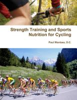 Strength Training and Sports Nutrition for Cycling PDF
