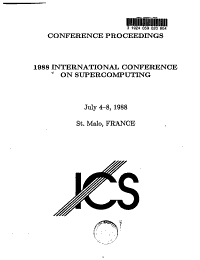 1988 International Conference on Supercomputing PDF