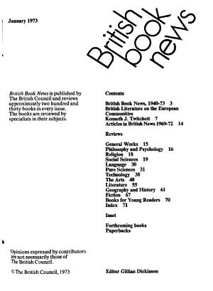 British Book News PDF