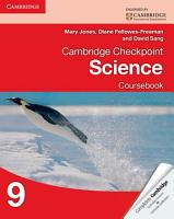 Cambridge Checkpoint Science Coursebook 9 PDF