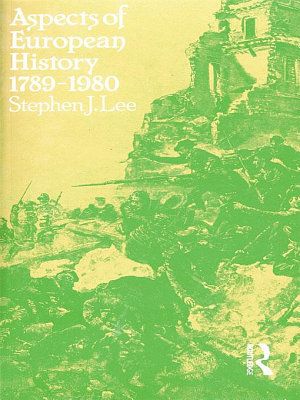 Aspects of European History 1789 1980 PDF