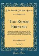 The Roman Breviary  Vol  2 of 4 PDF