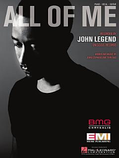 All of Me Sheet Music Book