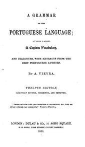 A Grammar of the Portuguese Language