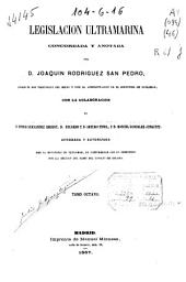 Legislación ultramarina: (831, III p.)