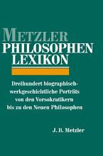 Metzler Philosophen Lexikon PDF