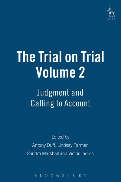 The Trial on Trial: Volume 2