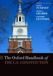 The Oxford Handbook Of The U S Constitution Book PDF
