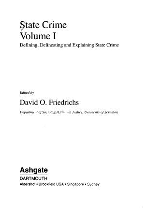 State Crime PDF