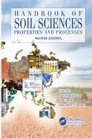 Handbook of Soil Sciences  Two Volume Set  PDF