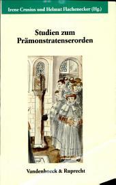 Studien zum Prämonstratenserorden